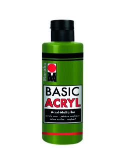 acrylfarbe basic acryl olive