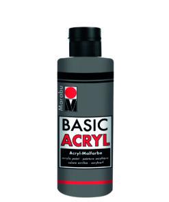 acrylfarbe basic acryl hellgrau