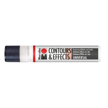 Marabu Contours & Effects, 25 ml, Liner, farblos