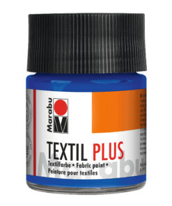 Marabu Textil plus Stoffmalfarbe ultramarinblau, für dunkle Stoffe