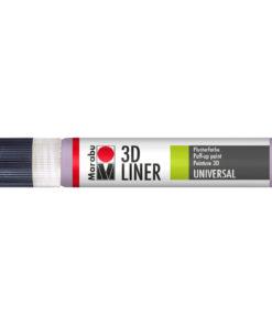 Marabu 3D Liner Universal, Plusterfarbe