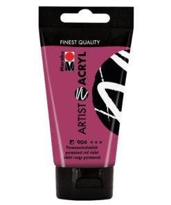 marabu artist acryl 75ml permanentrotviolett