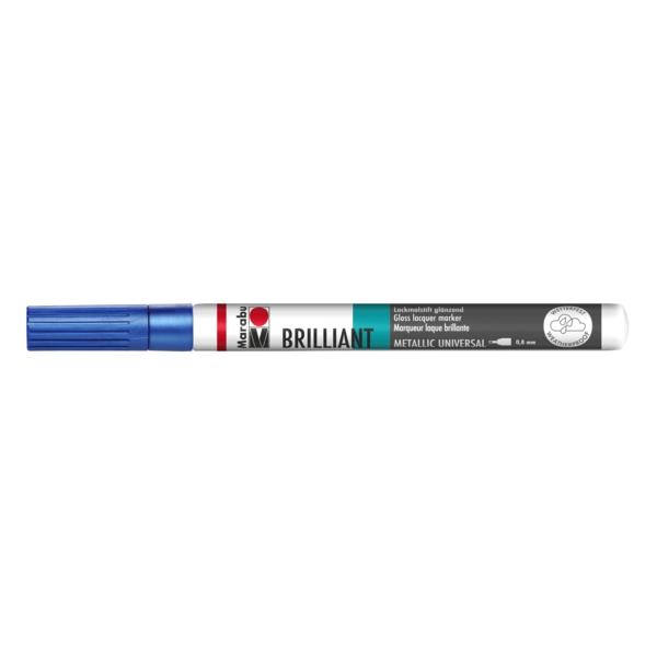 Marabu Brilliant Painter 752 Metallic-Blau 0,8 mm