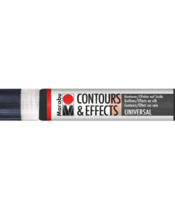 Marabu Contours & Effekcts, Liner, 25ml, schwarz