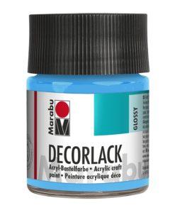 Marabu Decorlack Acryl 090 Hellblau 50 ml