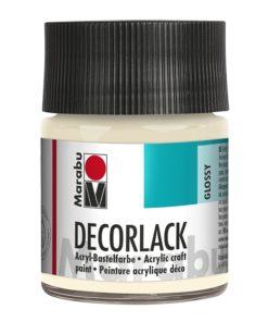 Marabu Decorlack Acryl 271 Elfenbein 50 ml