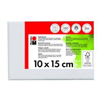 Marabu Keilrahmen 10 x 15 x 1,8 cm weiß
