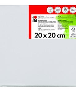 Marabu Keilrahmen 20 x 20 x 1,8 cm weiß