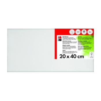 Marabu Keilrahmen 20 x 40 x 1,8 cm weiß