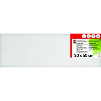 Marabu Keilrahmen 20 x 60 x 1,8 cm weiß
