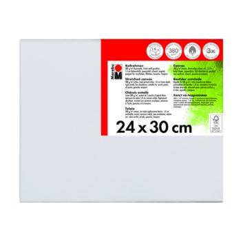 Marabu Keilrahmen 24 x 30 x 1,8 cm weiß