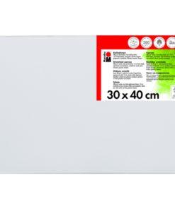 Marabu Keilrahmen 30 x 40 x 1,8 cm weiß
