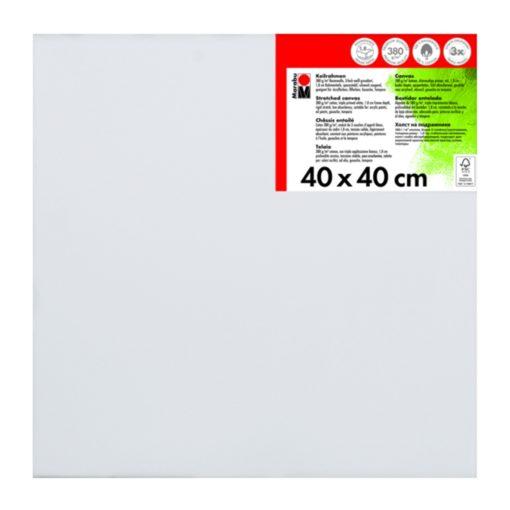 Marabu Keilrahmen 40 x 40 x 1,8 cm weiß