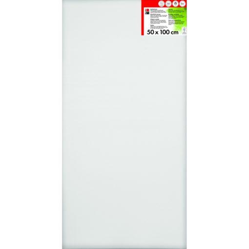 Marabu Keilrahmen 50 x 100 x 1,8 cm weiß