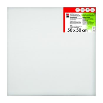 Marabu Keilrahmen 50 x 50 x 1,8 cm weiß
