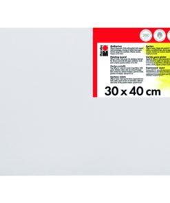 Marabu Malkarton 30 x 40 x 0,4 cm weiß