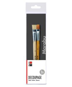 Marabu Pinselset Decoupage