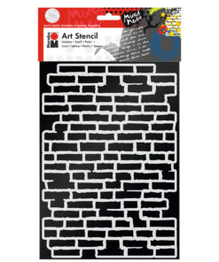 Schablone Bricks zum Schablonieren