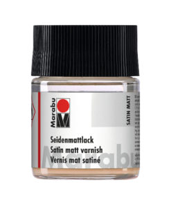 Marabu Seidenmattlack, farblos, 50ml