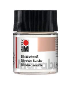 Marabu Silk Mischweiss, 50ml, Glas