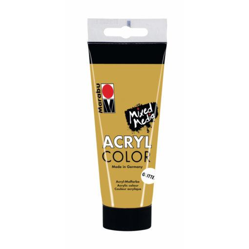 Marabu Acryl Color, Glitter für Mixed Media