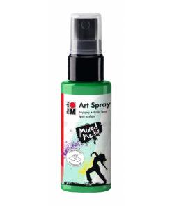 Marabu Art Spray, Acrylspray, apfelgrün, 50ml