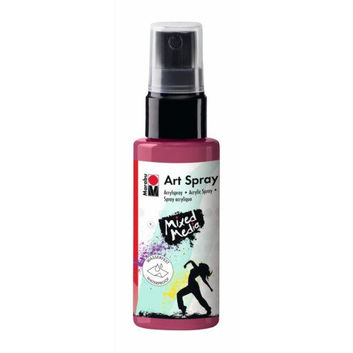 Marabu Art Spray, Acrylspray, bordeaux, 50ml