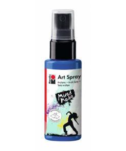 Marabu Art Spray, Acrylspray, enzian, 50ml