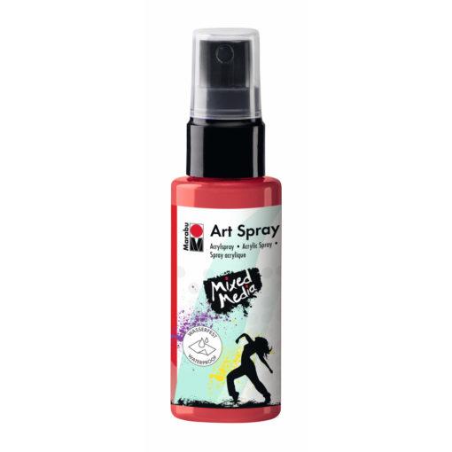Marabu Art Spray Acrylspray, flamingo, 50ml