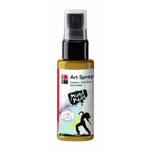 Marabu Art Spray, Acrylspray, gold, 50ml