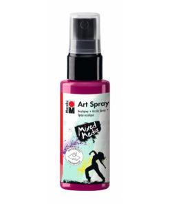 Marabu Art Spray, Acrylspray, himbeere, 50ml