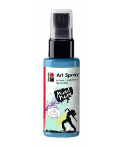 Marabu Art Spray, Acrylspray, himmelblau, 50ml