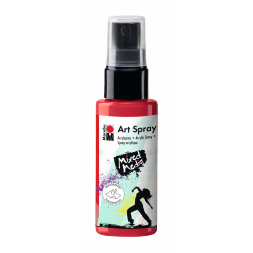 Marabu Art Spray, Acrylspray, peperoni, 50ml