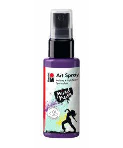 Marabu Art Spray, Acrylspray, pflaume, 50ml