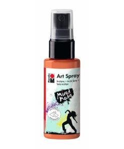 Marabu Art Spray, Acrylspray, rotorange, 50ml