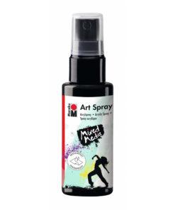 Marabu Art Spray, Acrylspray, schwarz, 50ml