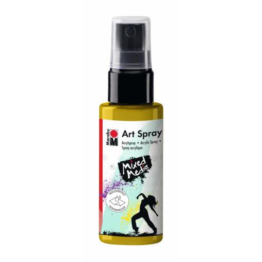Marabu Art Spray, Acrylspray, sonnengelb, 50ml