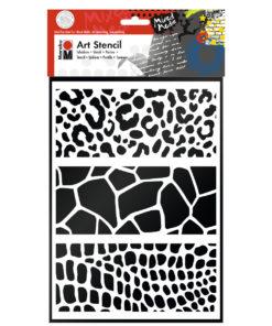 Art Stencil Schablone zum Schablonieren