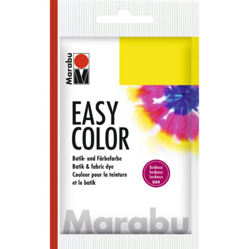 Marabu Batikfarbe Easy Color, bordeaux, Beutel 25 g