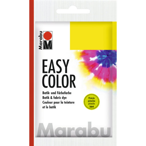 Marabu Batikfarbe Easy Color, pistazie, Beutel 25 g