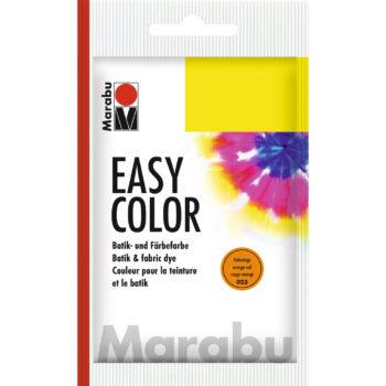 Marabu Batikfarbe Easy Color, rotorange, 25 g Beutel