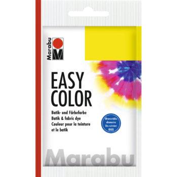 Marabu Batikfarbe Easy Color, ultramarinblau dunkel, Beutel 25 g
