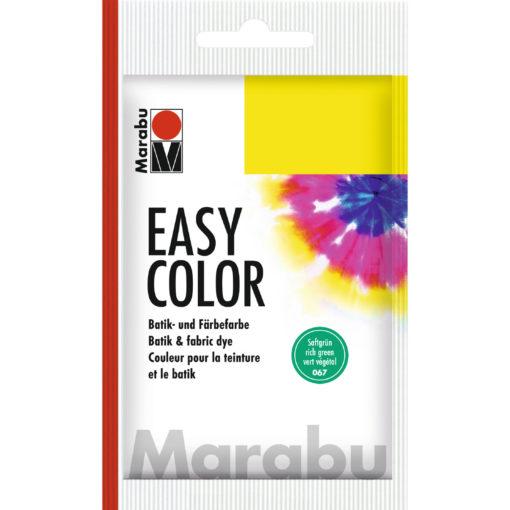 Marabu Batikfarbe Easy Color, Saftgrün, Beutel 25 g