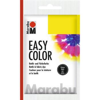 Marabu Batikfarbe Easy Color, schwarz, Beutel 25 g