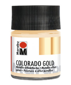 Marabu Colorado Gold, 50 ml, Weiß-Gold, Metallic-Effektfarbe