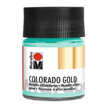 Marabu Colorado Gold, 50ml, Grün-Silber