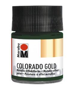 Marabu Colorado Gold, 50 ml, Metallic-Dunkelgrün