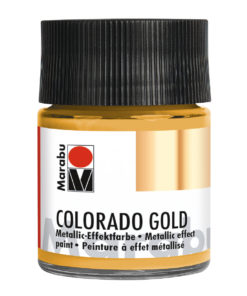 Marabu Colorado Gold, 50 ml, Metallic-Gold Effektfarbe