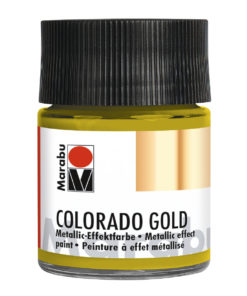 Marabu Colorado Gold 50 ml, Antik-Gold Effektfarbe