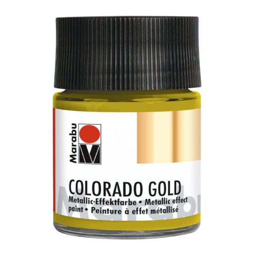 Marabu Colorado Gold 50 ml, Antik-Gold Effektfarbe